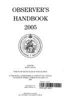 Observer s Handbook 2005