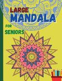 Large MANDALA for Seniors