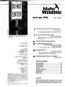 Idaho Wildlife Book