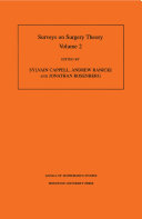 Surveys on surgery theory   papers dedicated to C T C  Wall