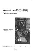 America  1603 1789