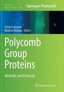 Polycomb Group Proteins  Methods and Protocols