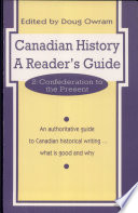Canadian History  Confederation to the present Book