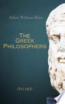 The Greek Philosophers  Vol 1 2