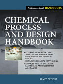 Chemical Process and Design Handbook Book
