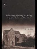 Archaeology  Economy and Society
