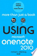 Using Microsoft OneNote 2010, Enhanced Edition