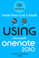 Using Microsoft OneNote 2010  Enhanced Edition