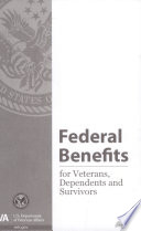 Federal Benefits for Veterans, Dependents and Survivors 2017