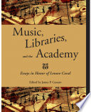 Read Online Music, Libraries, and the Academy For Free