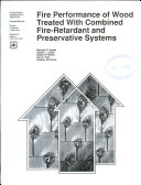 Fire Performance of Wood Treated with Combined Fire-retardant and Preservative Systems