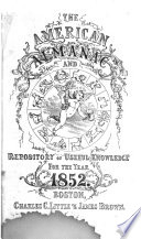 The American Almanac and Repository of Useful Knowledge for the Year ...