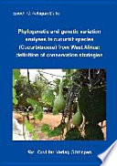 Phylogenetic And Genetic Variation Analyses In Cucurbit Species Cucurbitaceae From West Africa Book PDF