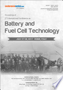 Proceedings of 2nd International Conference on Battery   Fuel Cell Technology 2017