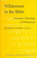 Wilderness in the Bible