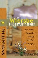 The Wiersbe Bible Study Series: Philippians
