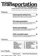 Canadian Transportation & Distribution Management
