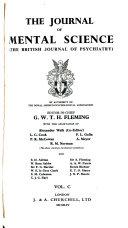 Journal of Mental Science