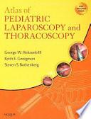 Atlas of Pediatric Laparoscopy and Thoracoscopy