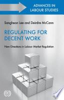 Regulating for Decent Work Book