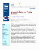 Pdf Livestock, Dairy, and Poultry Outlook July 27, 2004
