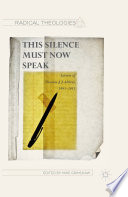 This Silence Must Now Speak Book