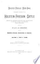Holstein-Friesian Herd-book