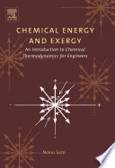 Chemical Energy and Exergy Book