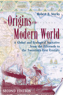 The Origins of the Modern World Book