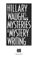 Hillary Waugh s Guide to Mysteries   Mystery Writing
