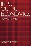 Input-Output Economics