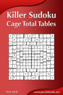 Killer Sudoku - Cage Total Tables