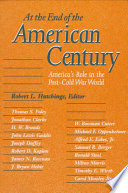 At the End of the American Century