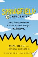 Springfield Confidential Book