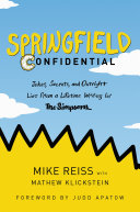 Pdf Springfield Confidential
