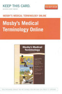 Mosby s Medical Terminology Online   Retail Pack