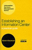 Establishing an Information Center Book