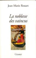 Pdf La noblesse des vaincus Telecharger