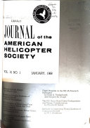 Journal of the American Helicopter Society Book
