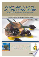 Olives and Olive Oil as Functional Foods Book