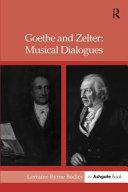 Goethe and Zelter