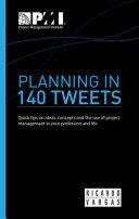 Planning in 140 Tweets