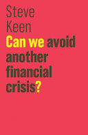Can We Avoid Another Financial Crisis?