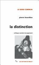 La Distinction Pdf/ePub eBook