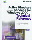 Active Directory Services for Microsoft Windows 2000