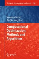 Computational Optimization  Methods and Algorithms
