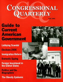 CQ Guide to Current American Government 2006 Fall