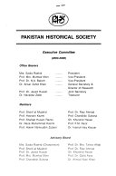 Journal of the Pakistan Historical Society