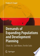 Demands Of Expanding Populations And Development Planning Book PDF