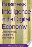 Business Intelligence In The Digital Economy Book PDF